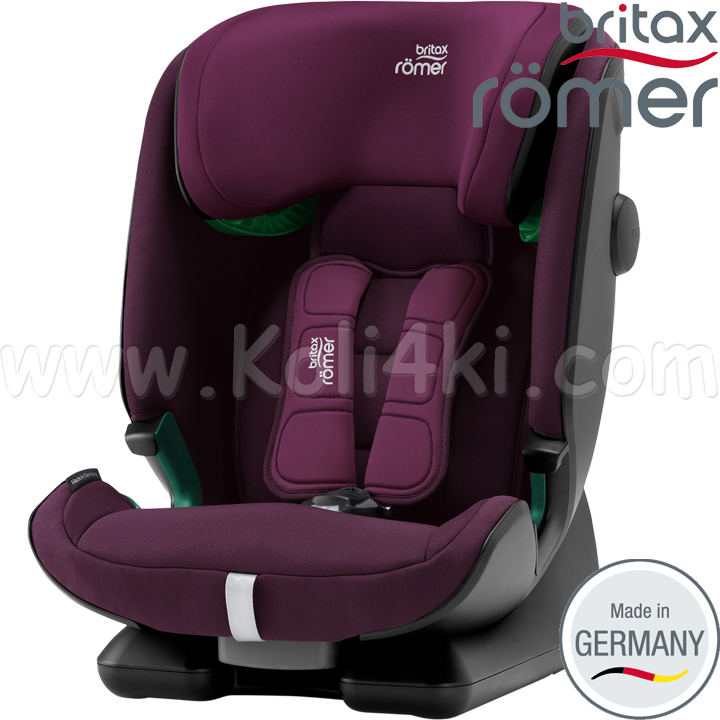 Britax Romer Стол за кола 9-36kg. ADVANSAFIX I-Size Burgundy Red