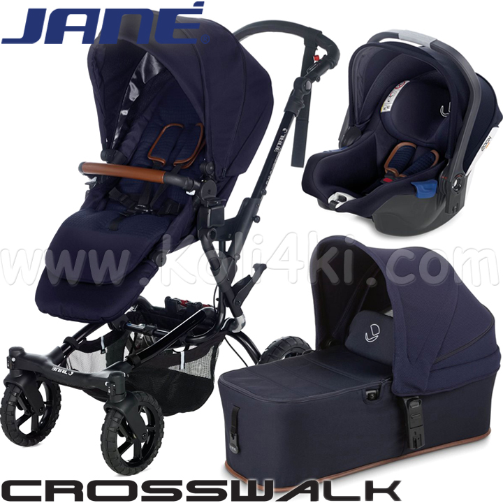 Jane Бебешка количка 3в1 Crosswalk Micro Koos i-Size Sailor 5486