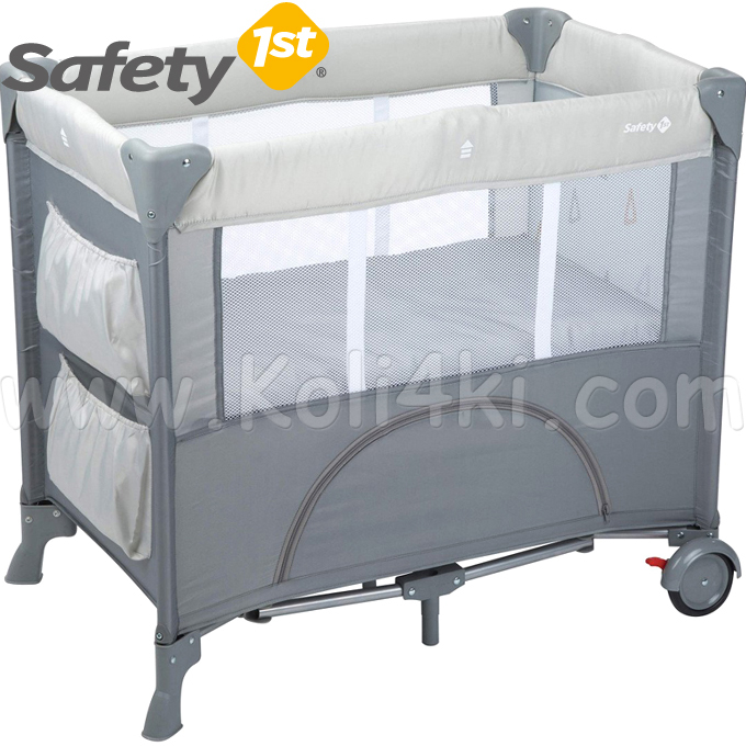 Safety 1st Кошара за сън Mini Dreams Warm Grey 2113191000